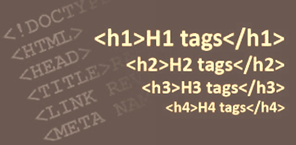 using header tagsproperly in your website design for SEO ranking