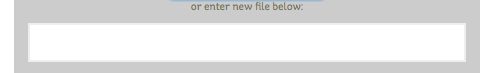 enter a short name for your new file folder